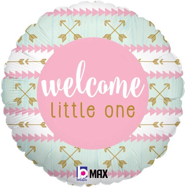 Welcome Little One - Pink